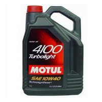 масло Motul 4100 turbolight 10w-40