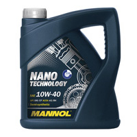 масло Mannol nano techology 10w 40